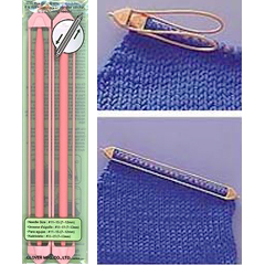 Knitting Using Stitch Holder : Double Ended Stitch Holder (Jumbo) Double Ended Stitch Holder (Jumbo) - USD6.30...