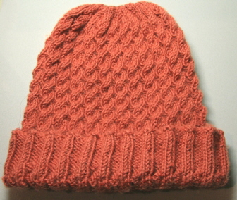 winter cable beanie