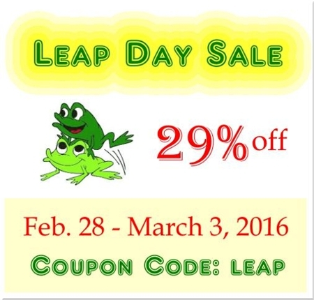 leap day sale at vintageknits.net